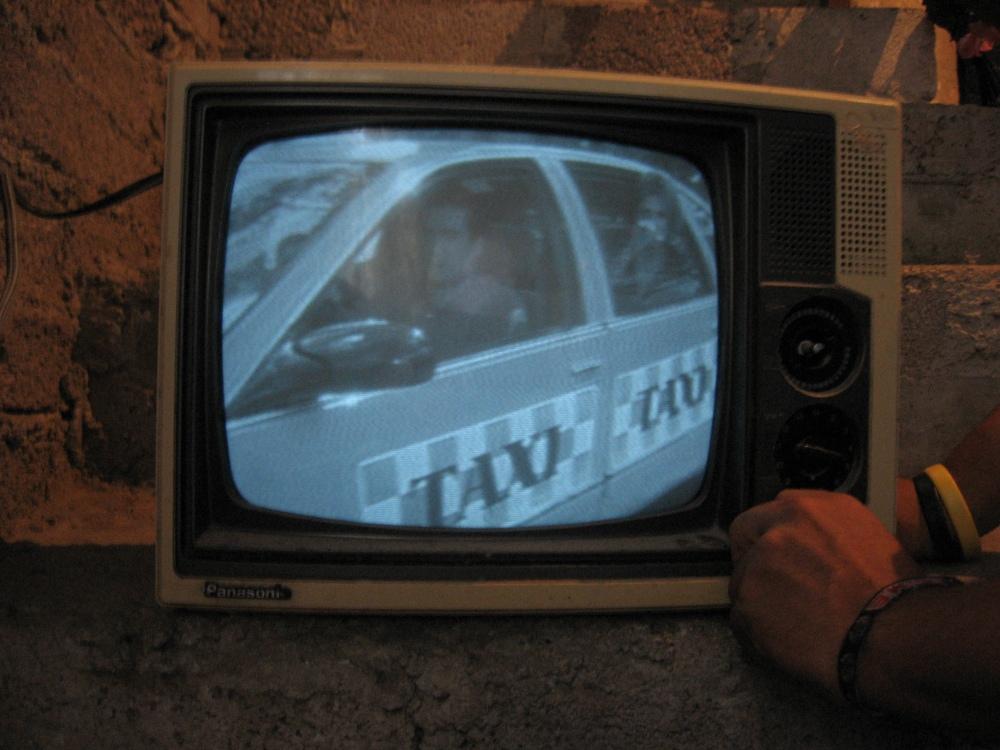 TV funcionando